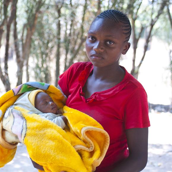 Stöd arbetet mot barnäktenskap - Plan International