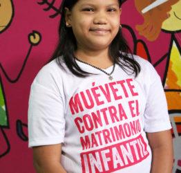 Celia var en del i kampen för att förbjuda barnäktenskap.