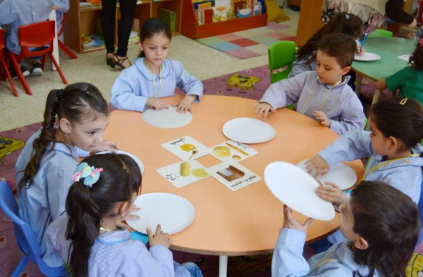 Vi arbetar bland annat i förskolor i Libanon där vi möter många syriska flyktingar.