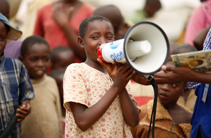Plan International jobbar med skydd av barn i kriser och katastrofer