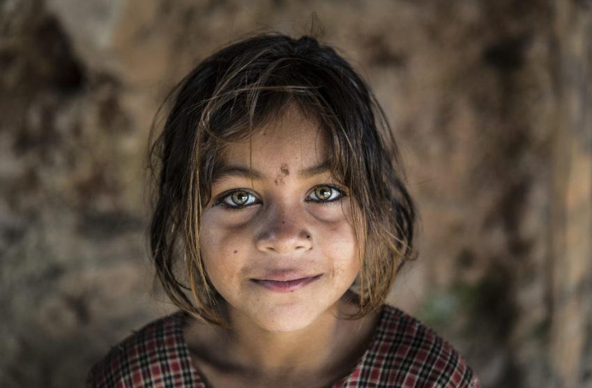 Zita är en av de flickor som ingår i Plan Internationals program för att stärka barns rättigheter och flickors lika villkor.