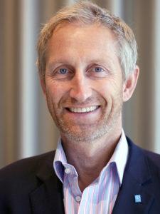 Insamlings- och kommunikationschef Johan Bååthe
