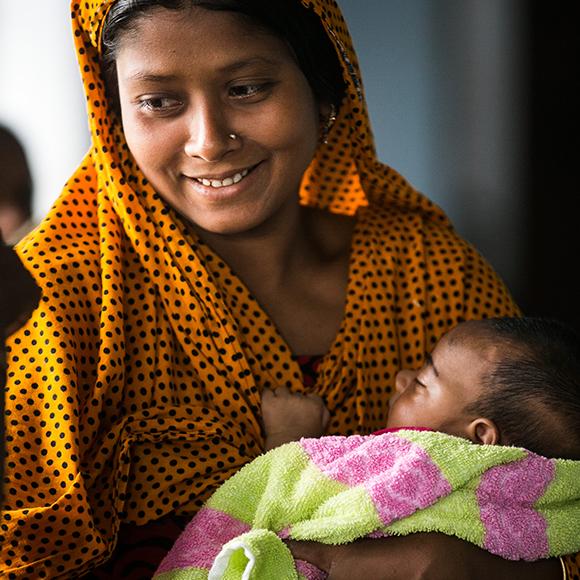Ge bort en säker förlossning - Plan International