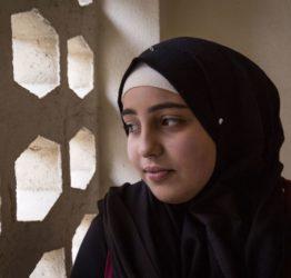 Shahed på flykt i Libanon