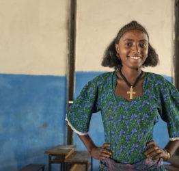 Tejitu 14 år i Etiopien