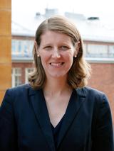 Veronica Koutny som ansvarar för företagssamarbeten