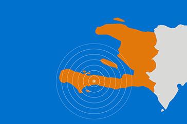 Jordbävning och stor förödelse Haiti har återigen drabbats av en allvarlig jordbävning och oron i landet är stor. Över 1 000 personer har dött, flera har skadats och hus har förstörts. Plan International har arbetat många år i landet och ser nu över situationen för att barn ska få skydd. Läs mer om arbetet i Haiti