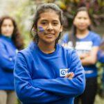 Ungdomsaktivister i Peru